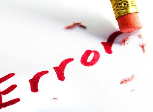 6 Errores más comunes que cometemos antes de comenzar nuestra vida sin escuela