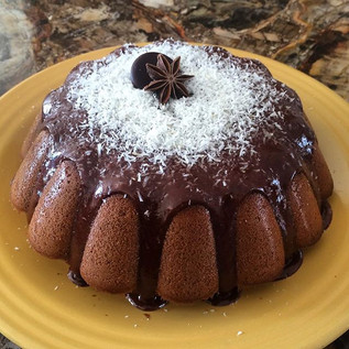 Un petit gouter entre copines #apresmidi#gouter#moelleuxchocolat#chocolat#instafood#food#gateau#moelleux#cake#instacake#coco#bounty#chocolat