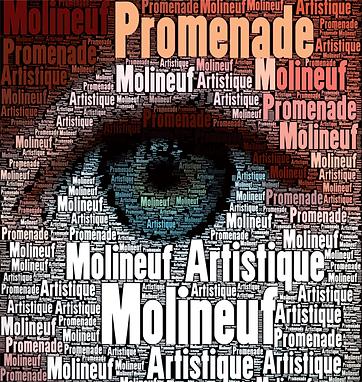 Affiche des promenade artistique de molineuf valencisse