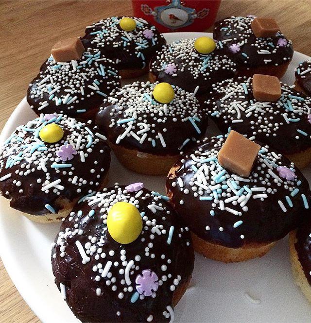 #cupcakes#chocolate#m&m#fudgecake#gouter#exposition#alalettrethe#chocolat#gateaux#blois#salondethé#faitmaison#instafood