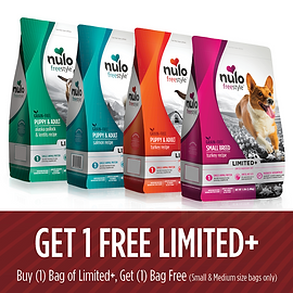 Buy One, Get One FREE on SAME SIZE Freestyle Limited+ Small & Medium Dry Dog Food Bags
