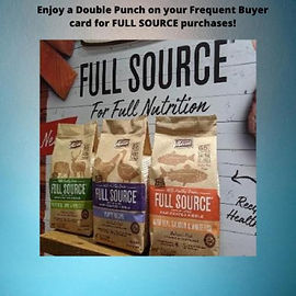 Bonus punch on your Full Source Frequent Buyer card.