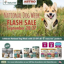 $3.00 Off ALL NaturVet Products