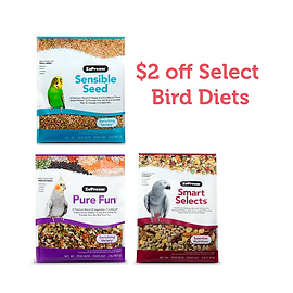 Get $2.00 OFF ZuPreem Blended Products