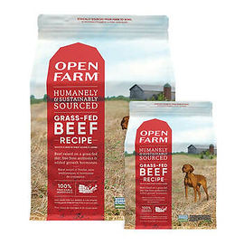 25% off all Open Farm Dog Food products.