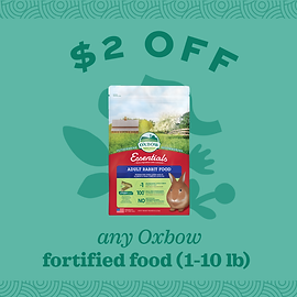$2.00 OFF Select Oxbow Foods