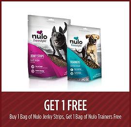 Buy 1, get 1 free Nulo Jerky Strips