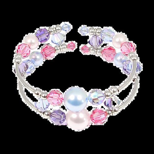 Summer Pastel Adele Cuff Bracelet