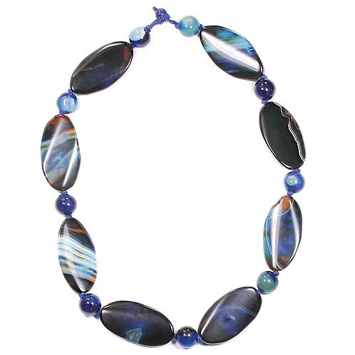 Variegated Jasper necklace