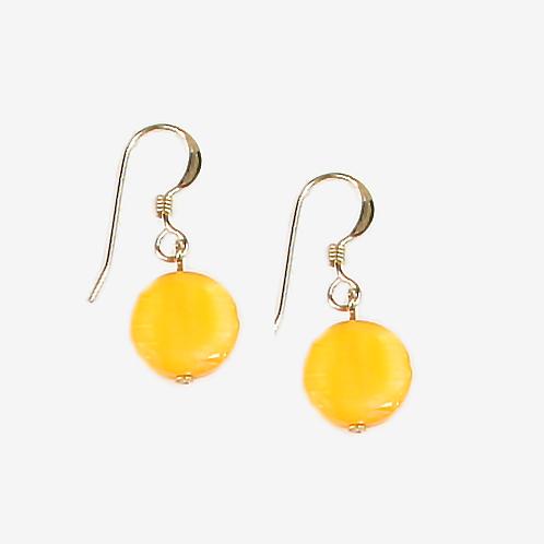 Sunshine Mother of Pearl earrings