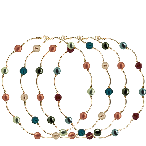 COLLECTION Warm & Deep Pearl Classic necklaces