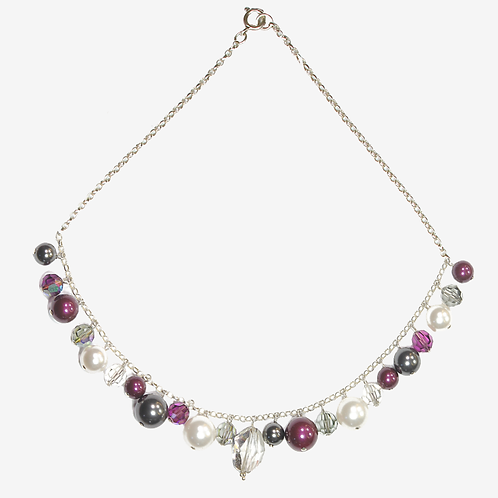 Winter Berry Charm necklace