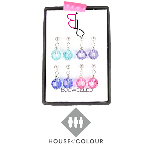House of Colour Drop Earring Set - Summer