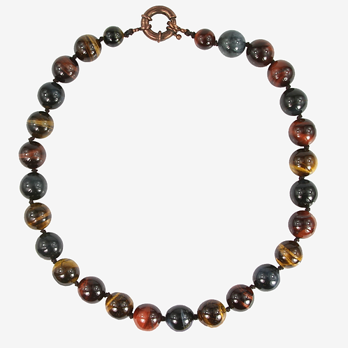 Mixed Tigers Eye necklace