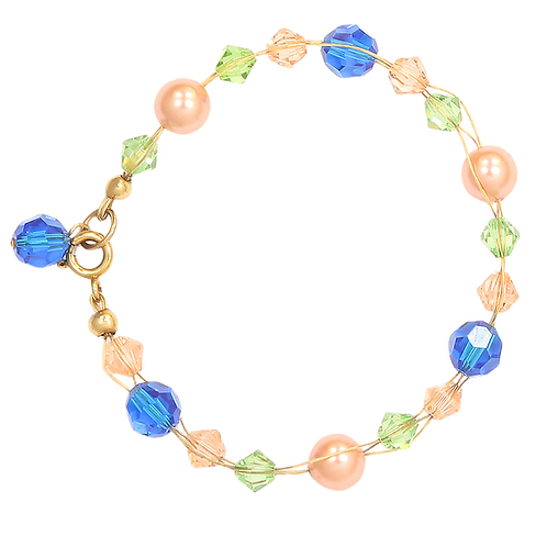 Mandarin plait bracelet