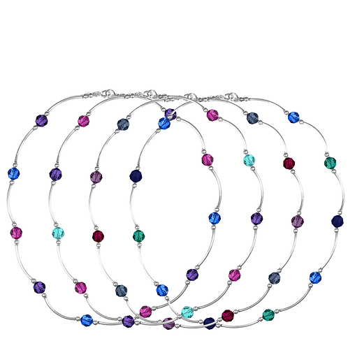 COLLECTION Cool & Bright Crystal Classic necklaces