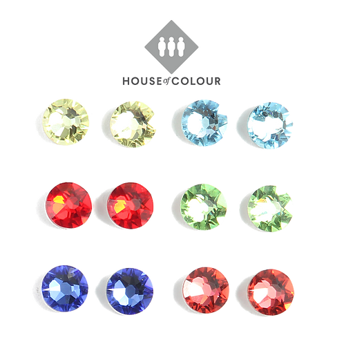 House of Colour Spring Stud Earring Set
