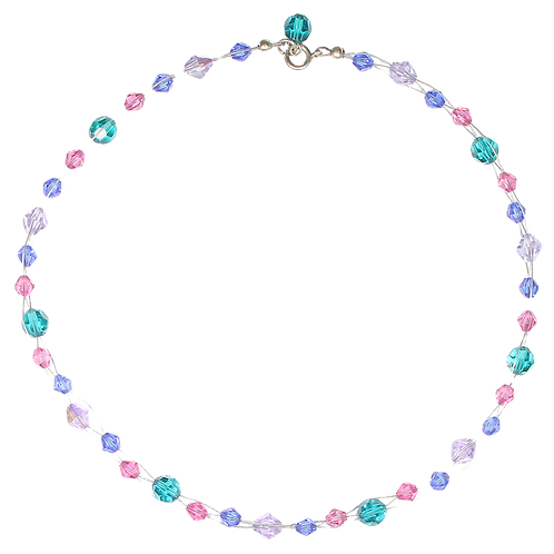 Fresia Blossom Plait necklace