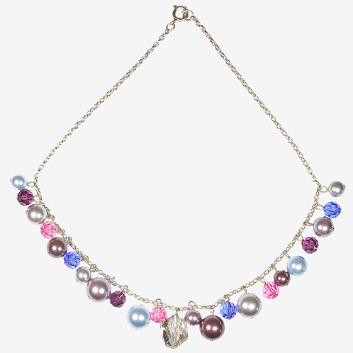Summer Berry Charm necklace
