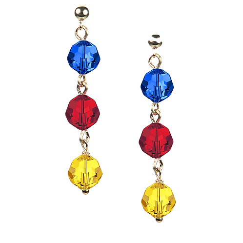 COLLECTION Warm & Bright Hailstone Earrings
