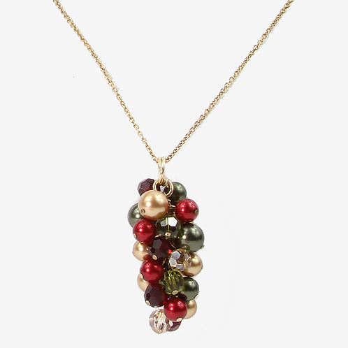 Holly Cluster Pendant - S