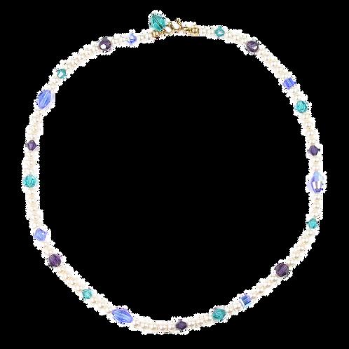 Arabella Spring Blues necklace