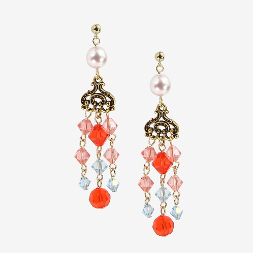 Coral Empire Earrings S