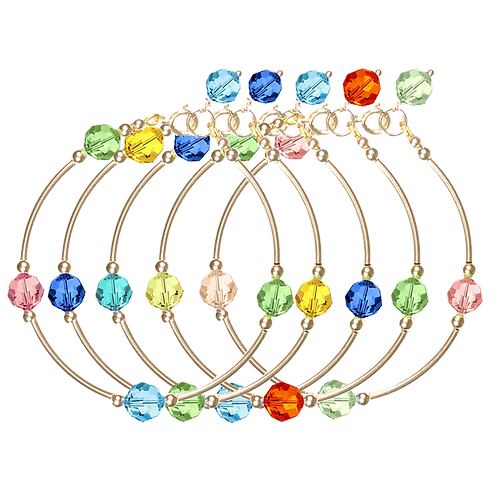 COLLECTION Warm & Bright Crystal Classic bracelets