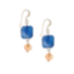 House of Colour Swarovski crystal and pearl earrings