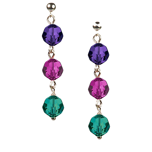 COLLECTION Cool & Bright Hailstone Earrings
