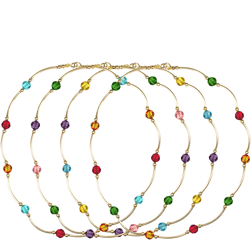 COLLECTION Warm & Deep Crystal Classic necklaces