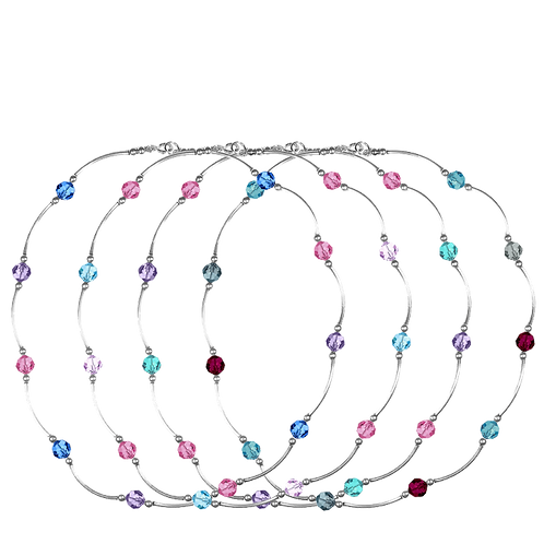 COLLECTION Cool & Soft Crystal Classic necklaces