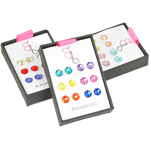 Spring Stud Earring Sets
