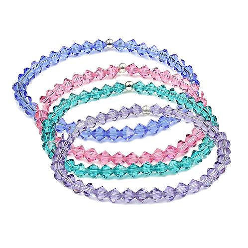 Summer crystal bracelet sets