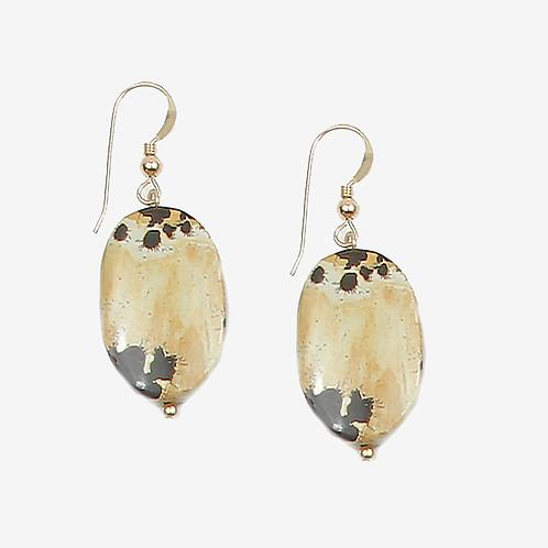 Variegated Jasper earrings