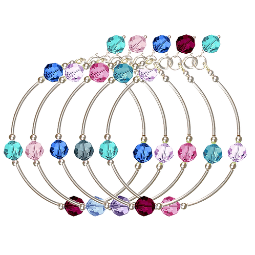COLLECTION Cool & Soft Crystal Classic bracelets