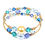 Thumbnail: Sea Blues Adele Cuff Bracelet