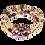 Thumbnail: Deep Burgundy Adele Cuff Bracelet