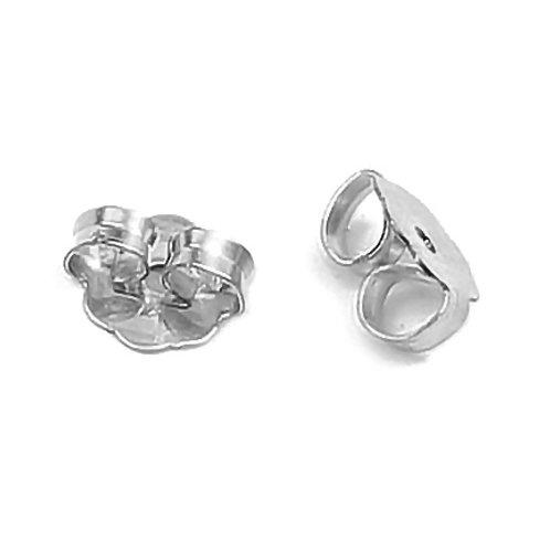 Sterling silver earring backs
