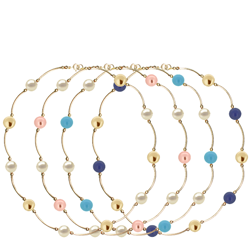 COLLECTION Warm & Bright Pearl Classic necklaces