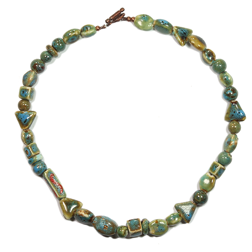 Chinese Terracotta necklace