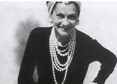 """A woman needs ropes and ropes of pearls"", Coco Chanel"