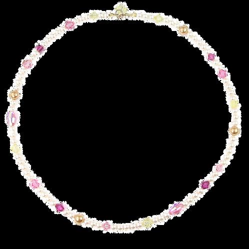 Arabella Spring Pinks necklace