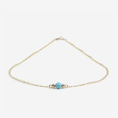 COLLECTION Warm & Bright Delicate Bead Necklace - 14 colours