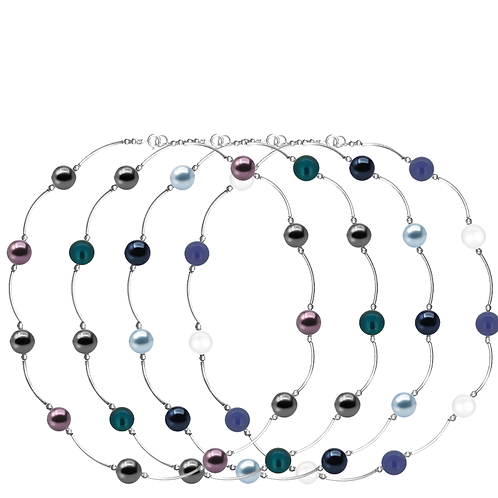 COLLECTION Cool & Bright Pearl Classic necklaces