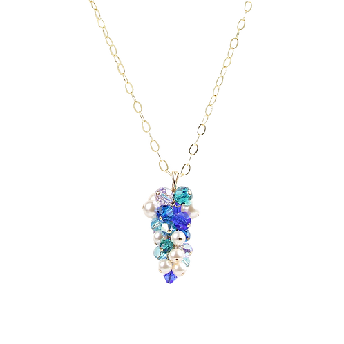 Blue Spring Crystal Pendant