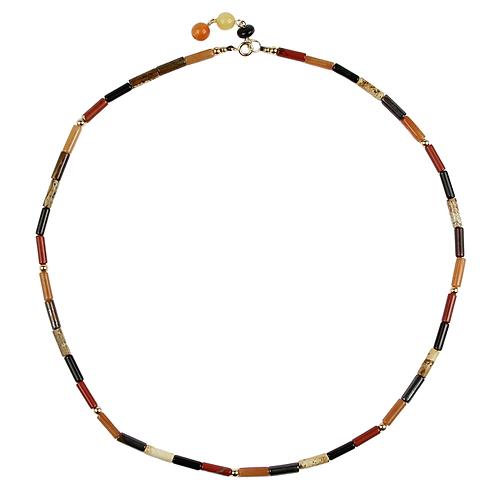 Mixed Semi-precious Stone Necklace - short