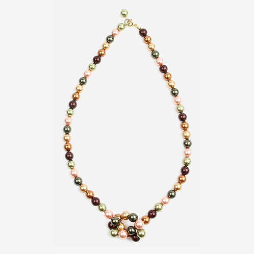 Autumn Swarovski Mixed Pearl necklace