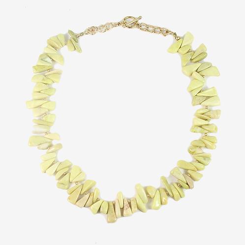 Semi-precious Chip & 14K Gold-fill necklace