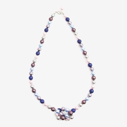 Summer Swarovski Mixed Pearl necklace
